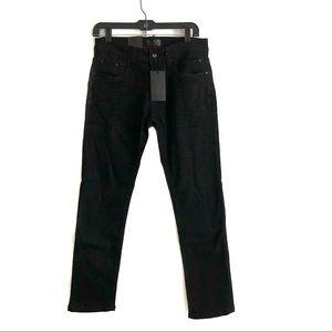 Steve's Black Straight Jeans
